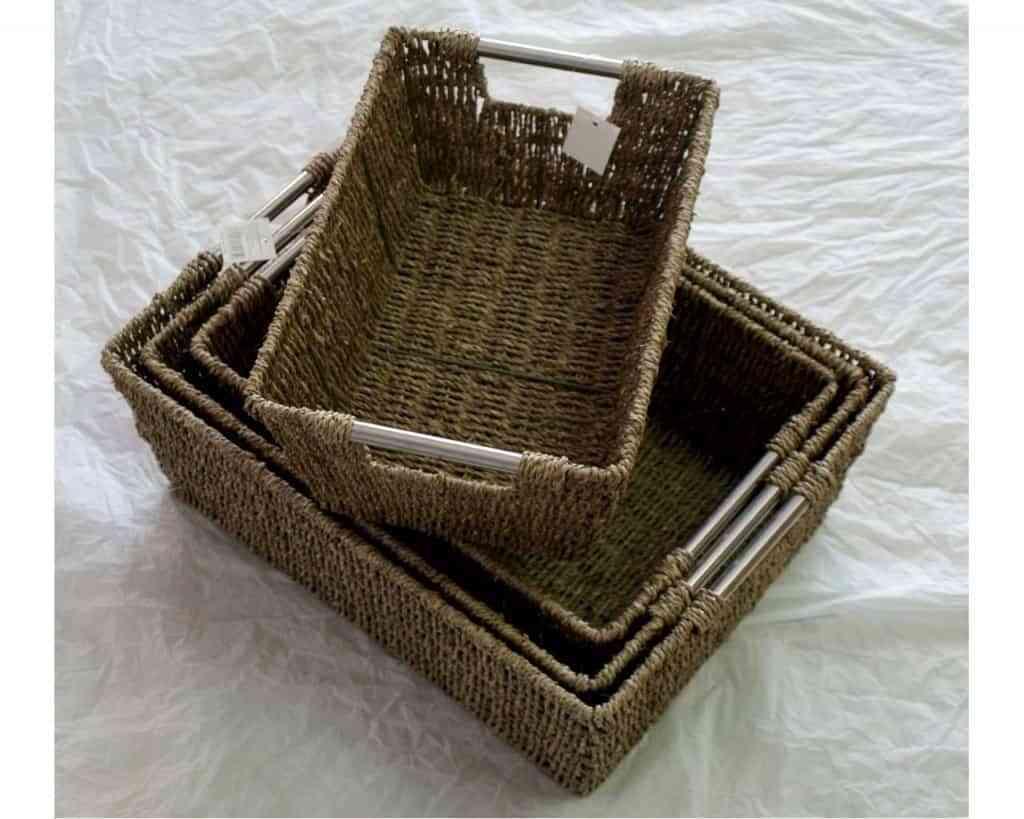 Set de 5 cestas