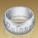 Anillo de Bulgari para Safe the children 1