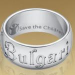 Anillo de Bulgari para Safe the children 2