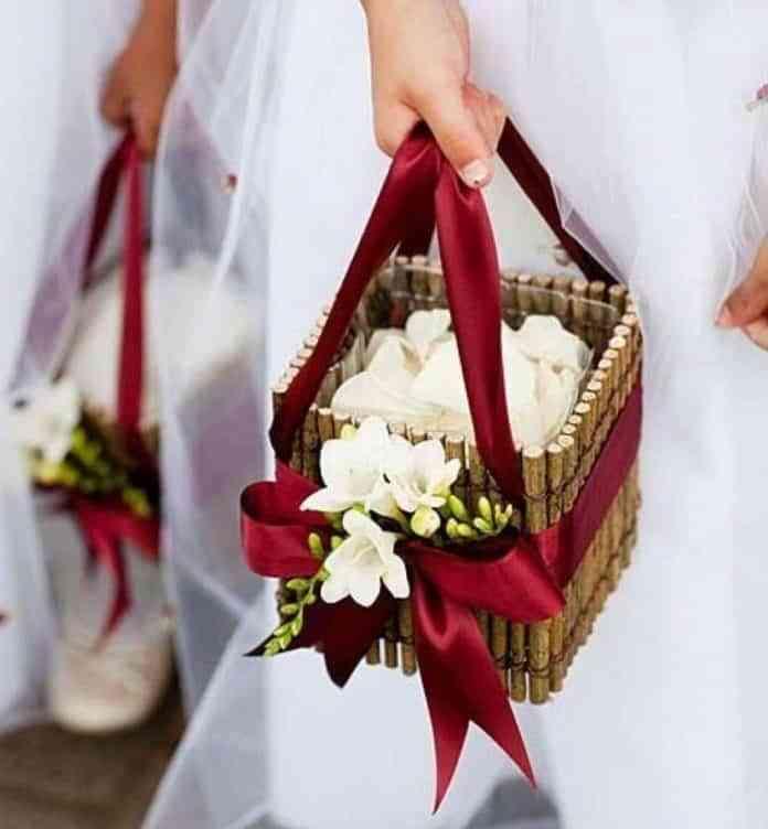 canastos para bodas