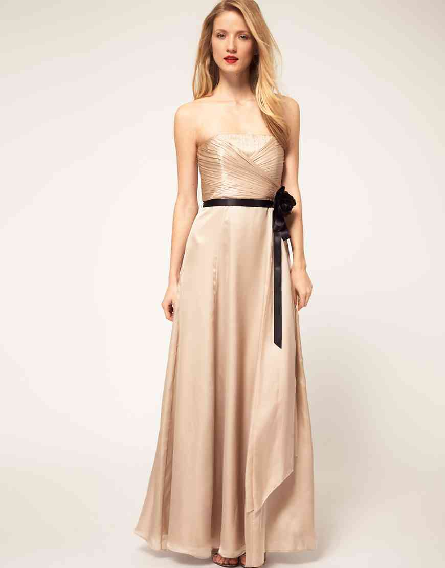 vestido de fiesta crudo