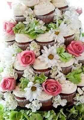 pastel de bodas individual