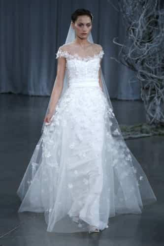 vestidos de novia otoño 2013 monique lhuillier - amor, bodas y
