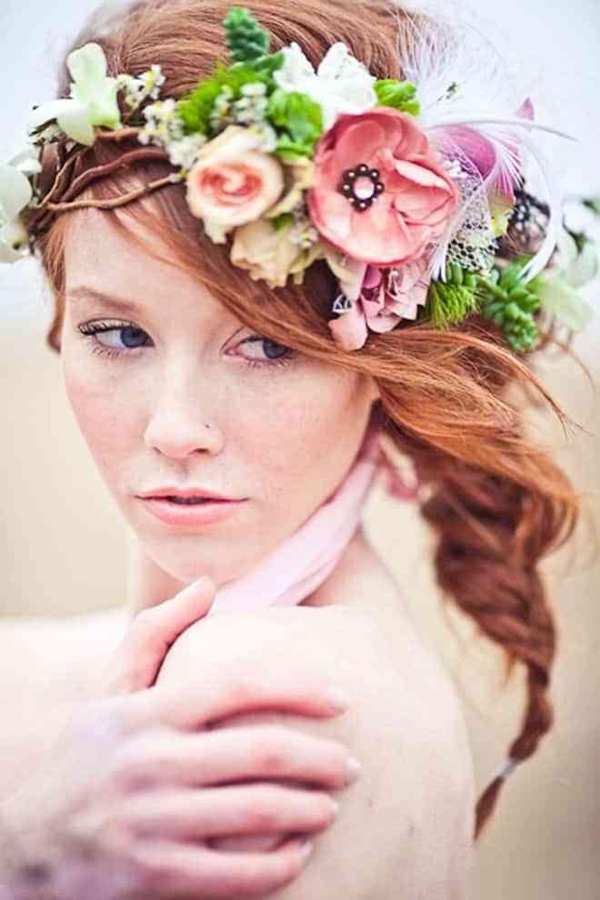 Peinados de novia que querrás copiar - Amor, bodas y regalos de boda
