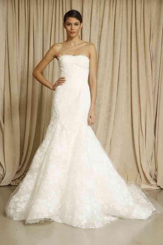 f880bd555 Vestidos de novia de Oscar de la Renta - Amor