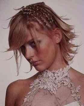 pelo corto para novias