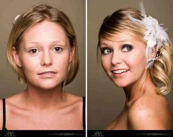 Aerógrafo para el maquillaje de novia