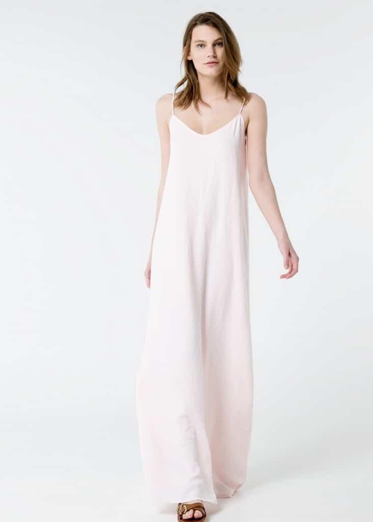 vestido de novia barato hippy