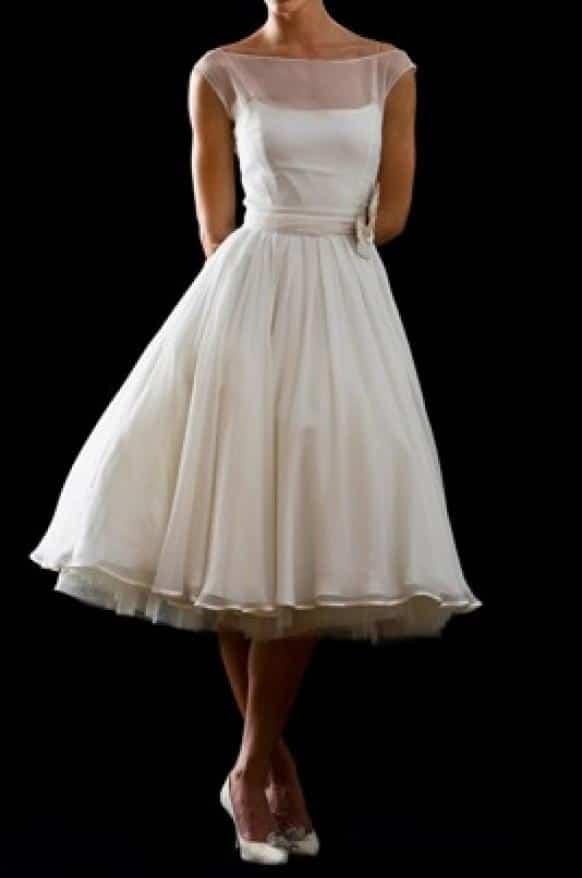 Vestidos de pin up para boda