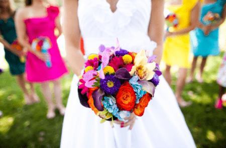 ramo de flores para novia