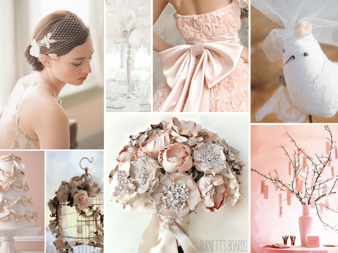 boda en color rosa