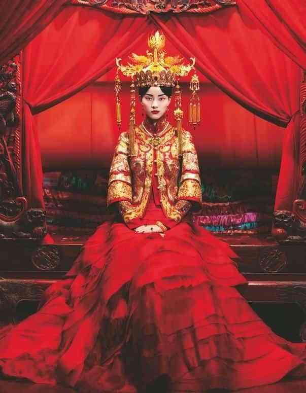 5bbc2eb88 Vestidos de novia tradicionales en Asia
