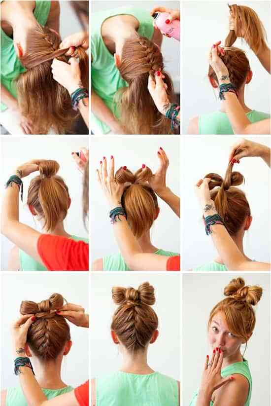 tutorial peinado para fiesta