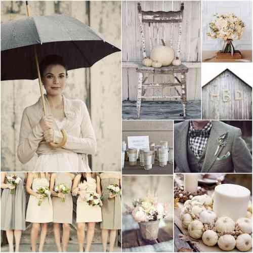 decoración de bodas otoño