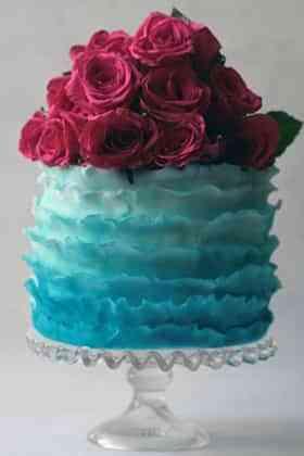 pastel de bodas floral