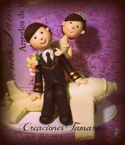 adornos para pasteles de bodas