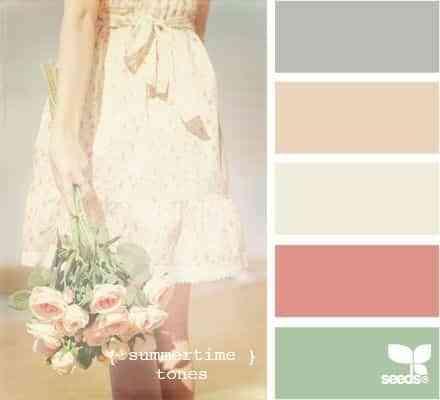 colores decoración bodas 2015