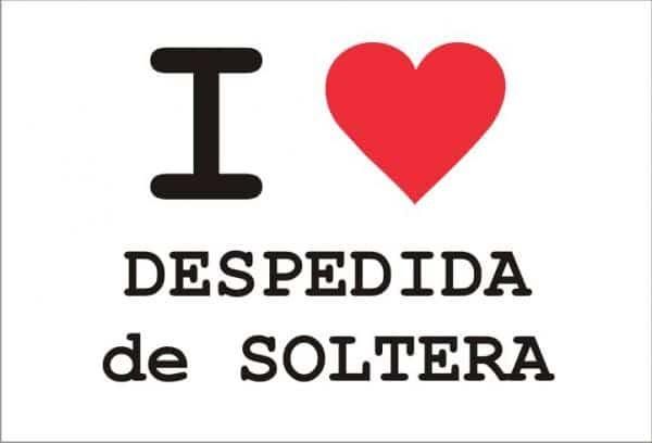 I Love Despedida Soltera Amor Bodas Y Regalos De Boda