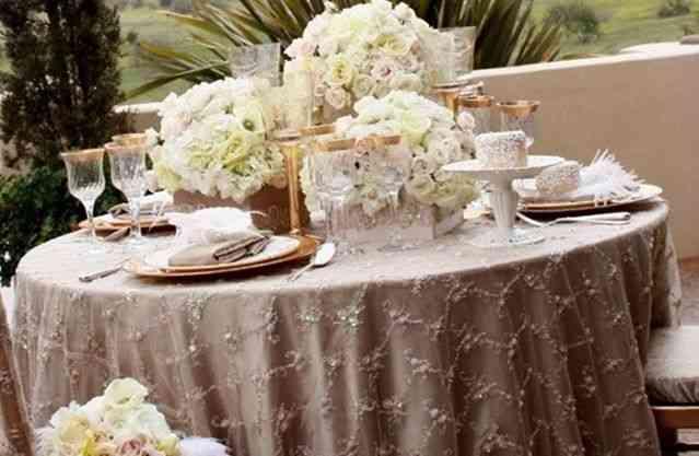 decoración bodas shabby
