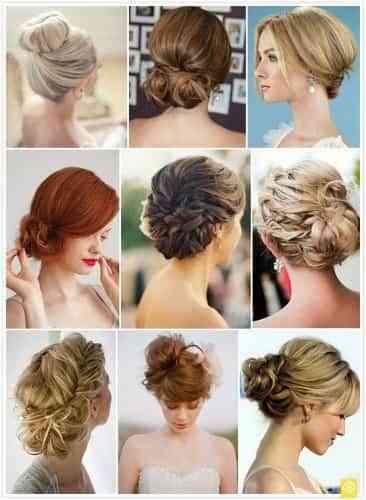 peinados para novia recogidos