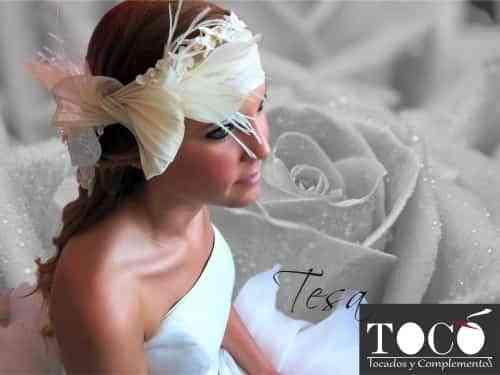 tocados para novias elegantes