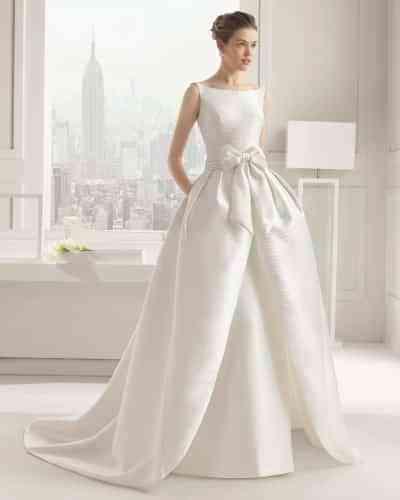 escote barco en vestidos de novia para el 2015