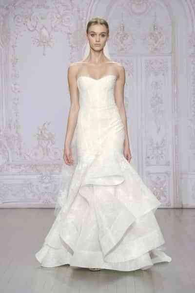 vestidos de novia con faldas espectaculares