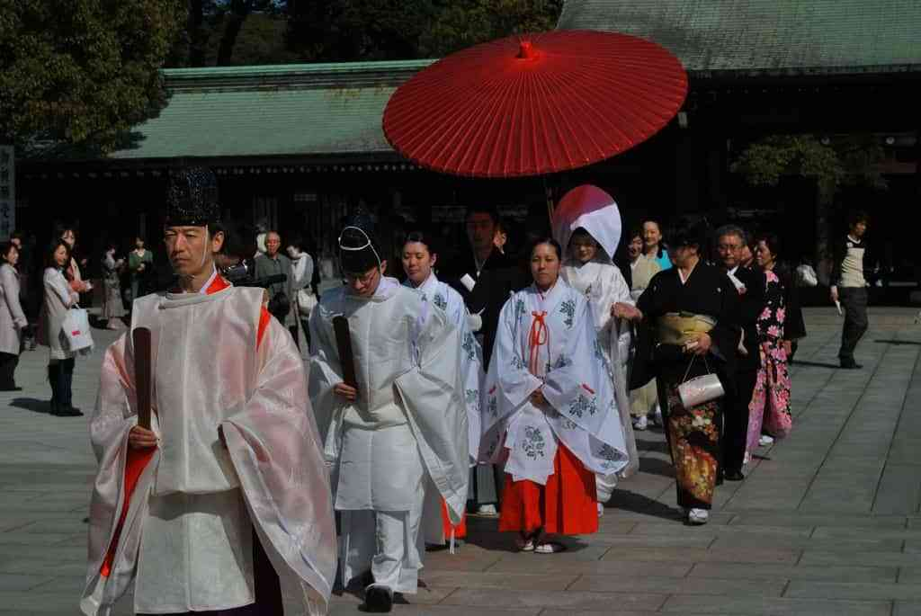 Casamientos japoneses