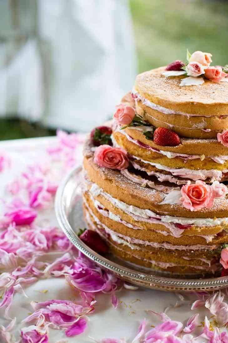 Pasteles originales para bodas para elegir