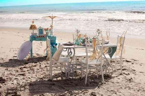 Oganizar una despedida de soltera en la playa