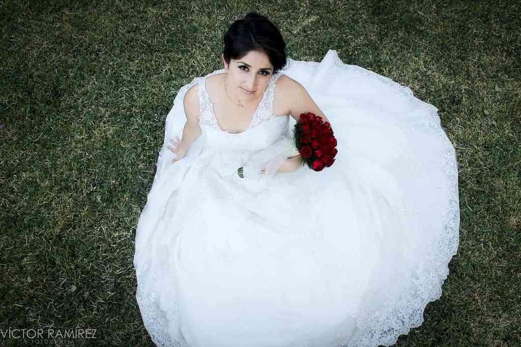 Tomar fotografías de una boda