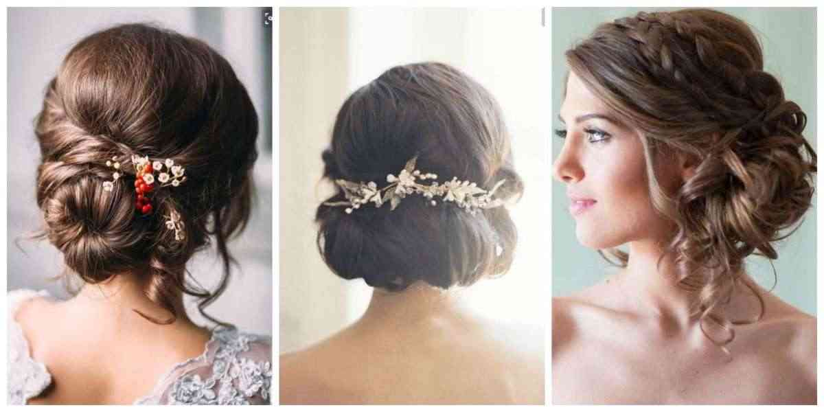 peinados para novias que tienen poco pelo