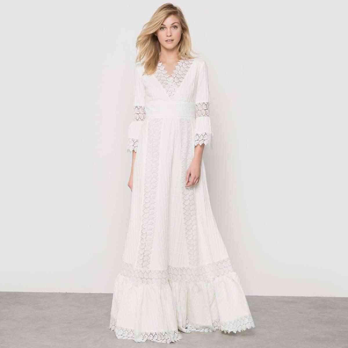 vestidos de novia low cost laredoute