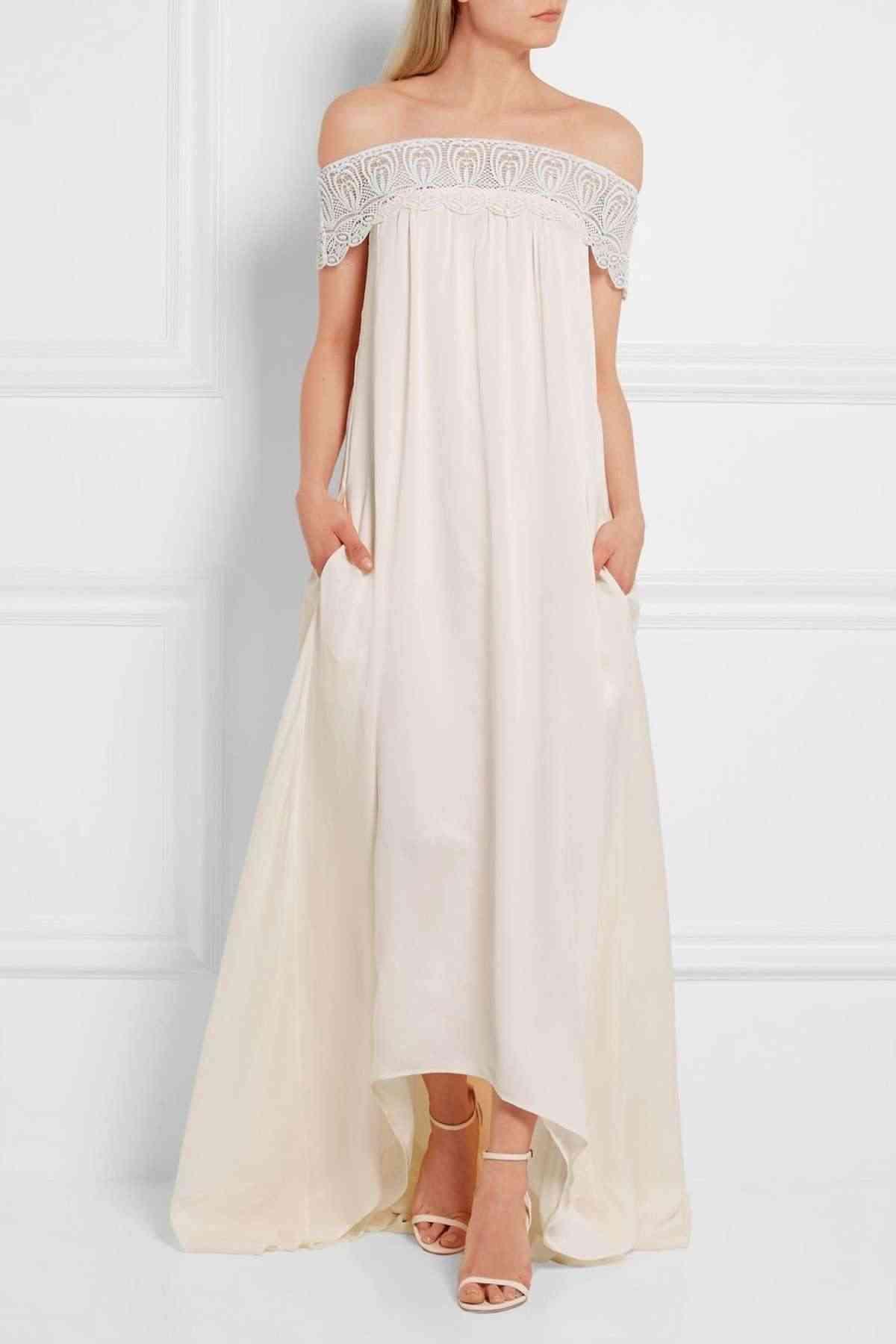 vestidos de novia low cost net a porter