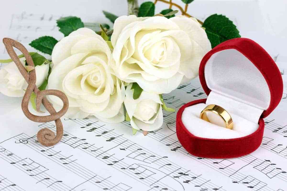 Canciones para una boda civil moderna