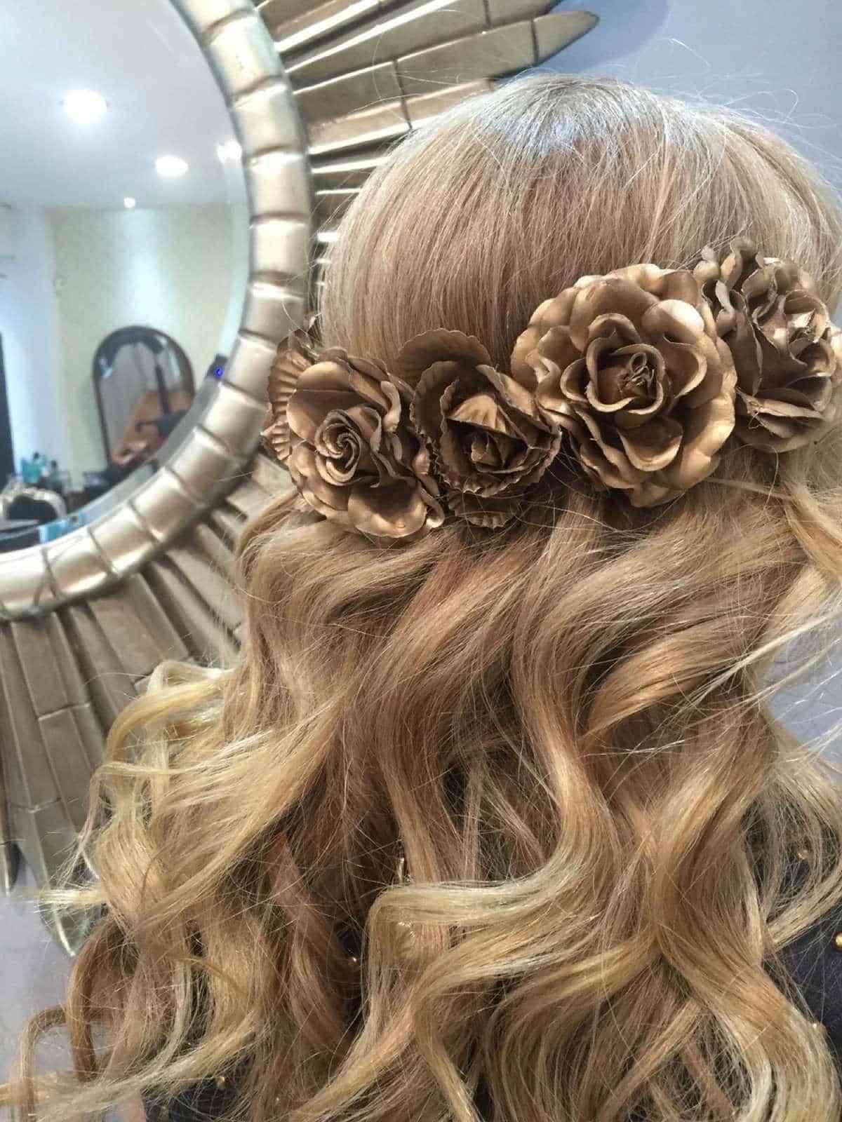Adornos para peinados de novia
