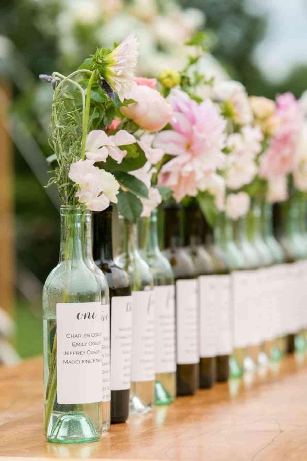 organizar mesas de boda