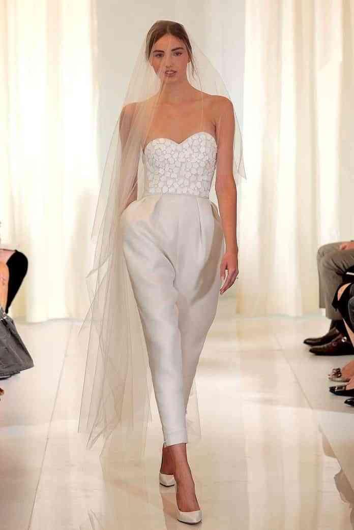 pantalones de novia