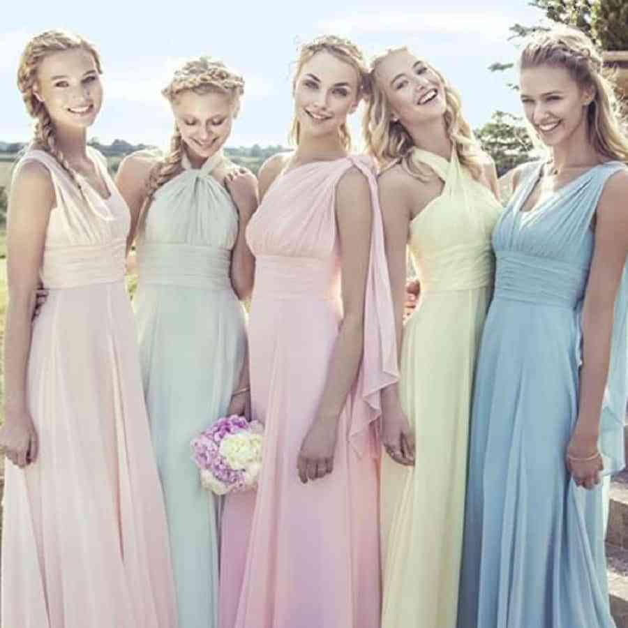 a1759afb2 15 Vestidos para damas de honor en verano ¡Tendencias 2017!