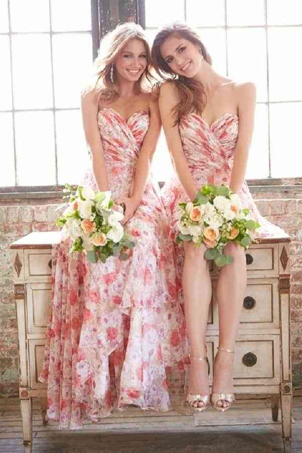 15 Vestidos para damas de honor en verano ¡Tendencias 2017!
