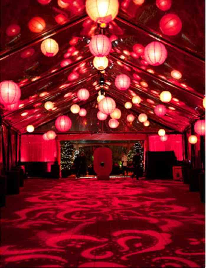 decorar una boda en color rojo