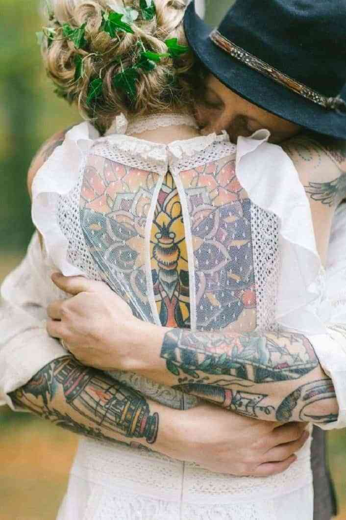 tatuajes en las bodas