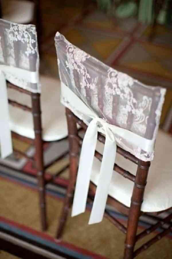 ideas para decorar las sillas