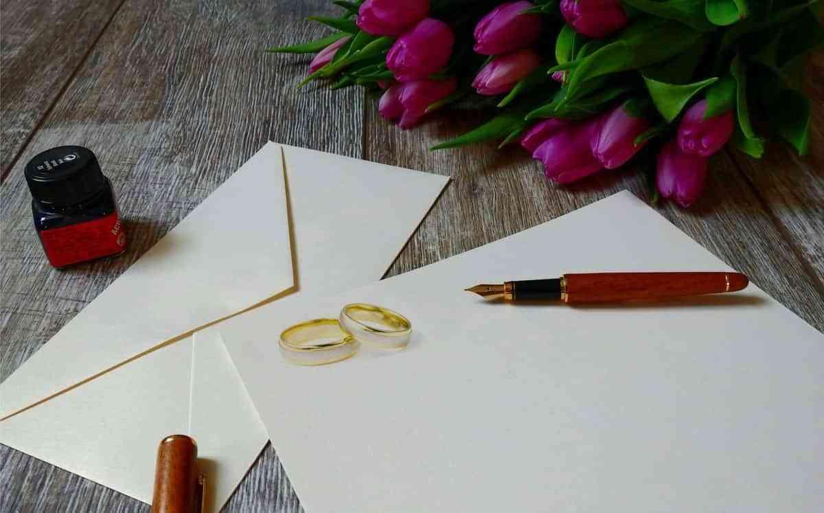 invitacion de boda papel