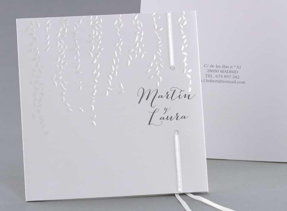 invitaciones de bodas clasicas