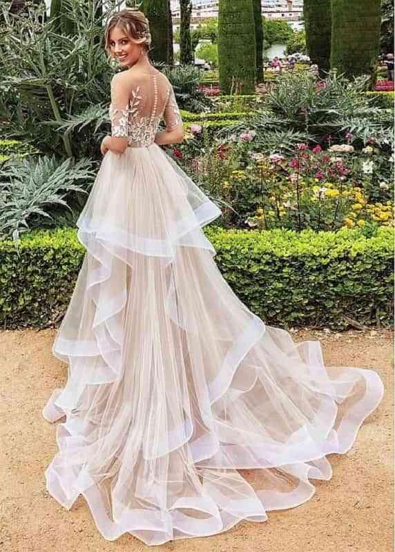 Tendencias en vestidos de novia para este 2021
