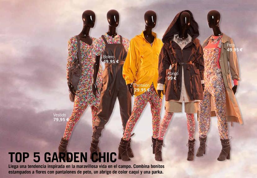 H&M tendencias florales